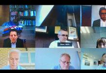 Visio-conférence avec les partenaires sociaux