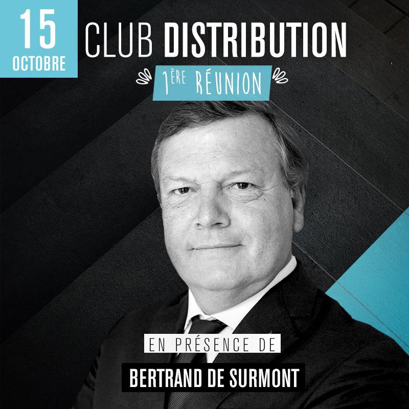 Club Distribution - 1ère réunion