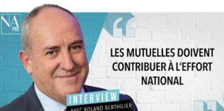 Roland Berthilier, président de la MGEN