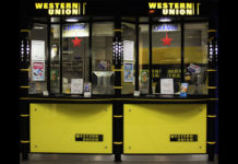 Une agence Western Union.