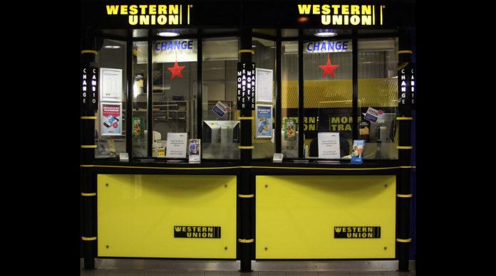 Une agence Western Union.