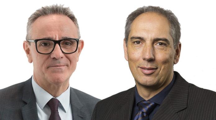 Patrick Brothier et Olivier Brenza, respectivement président et directeur général du groupe Aésio.