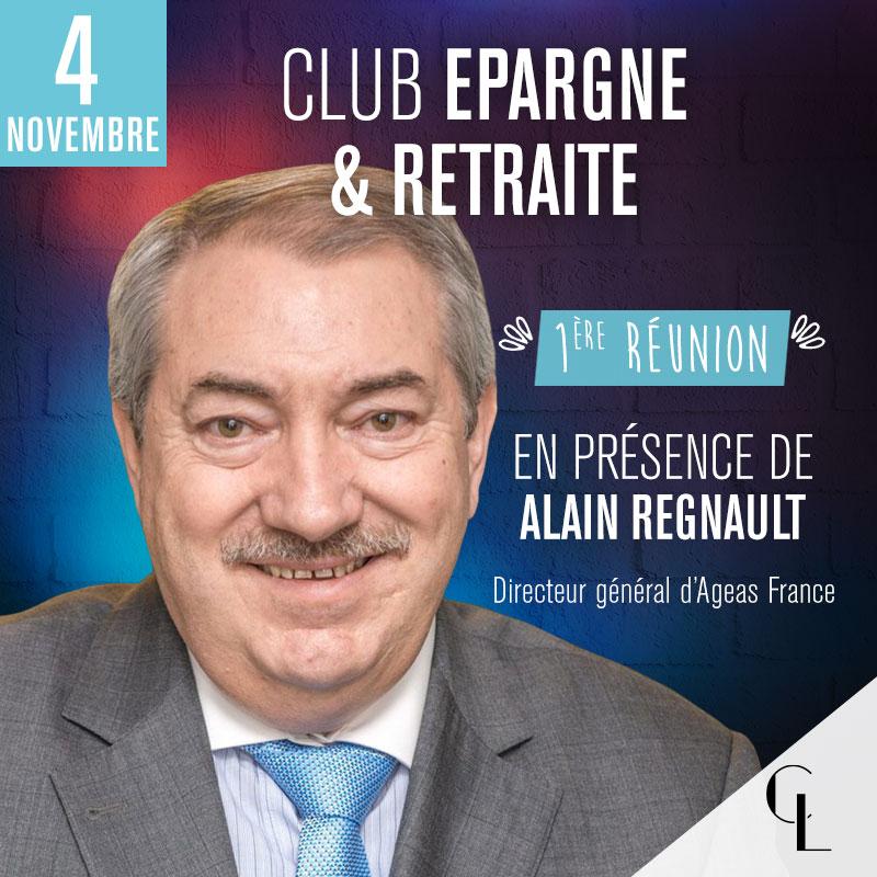 Club Epargne & Gestion de Patrimoine - 1ère réunion