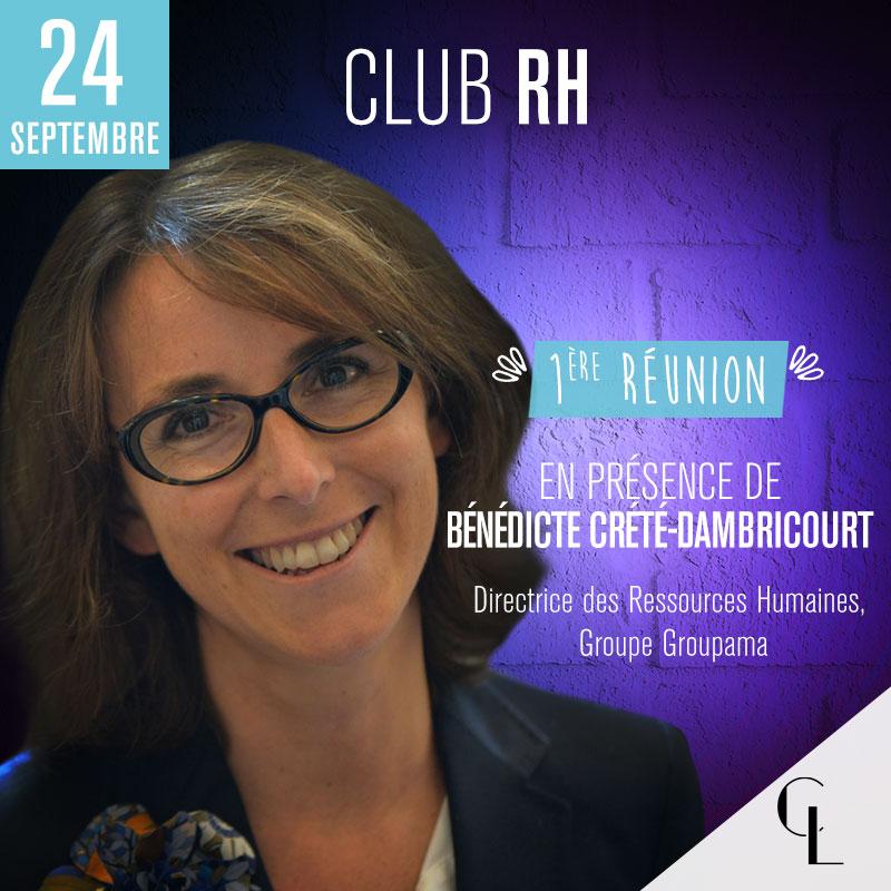 Club Ressources Humaines - 1ère réunion