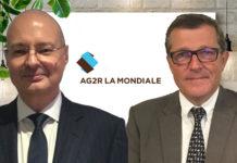 Jean-Camille Gallay (à gauche) et Francis Rebert (à droite) sont président et vice-président d'Arpège Prévoyance.