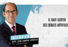 Jean-Laurent Granier, PDG de Generali France et vice-président de la FFA.