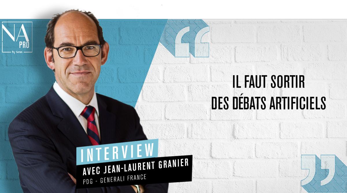 """Jean-Laurent Granier: """"Il faut sortir des débats artificiels"""""""