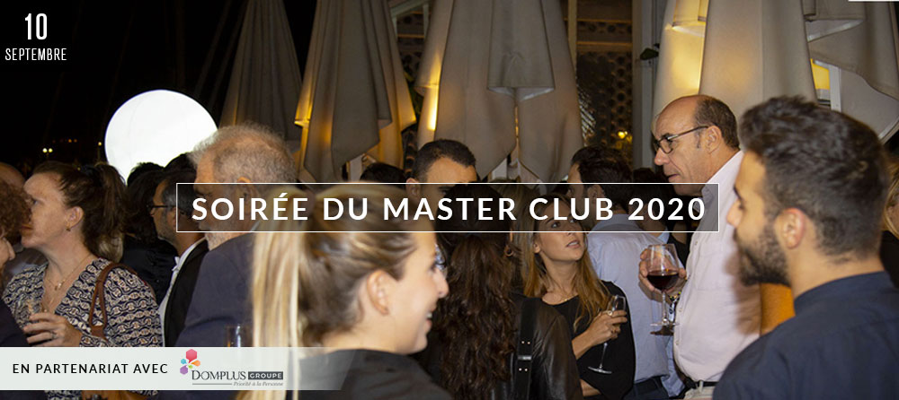 SOIRÉE DU MASTER CLUB 2020