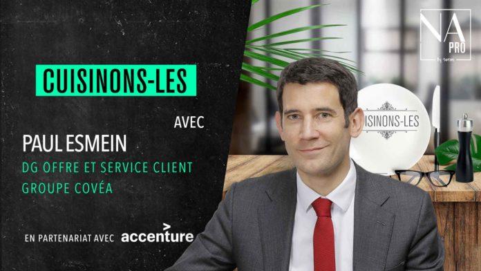Paul Esmein, directeur général de l'offre et du service client de Covéa