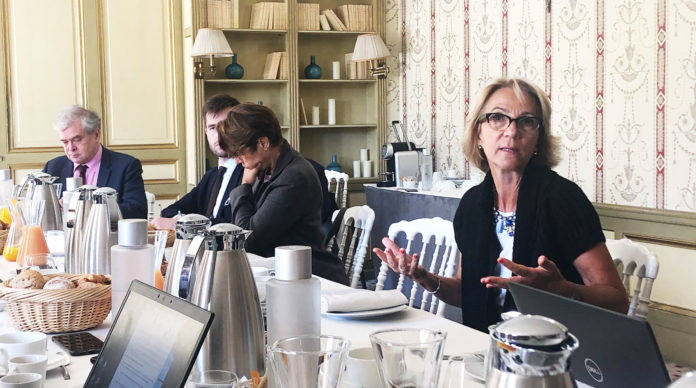 Florence Lustman, présidente de la FFA.