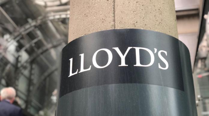 Le marché des Lloyd's de Londres.