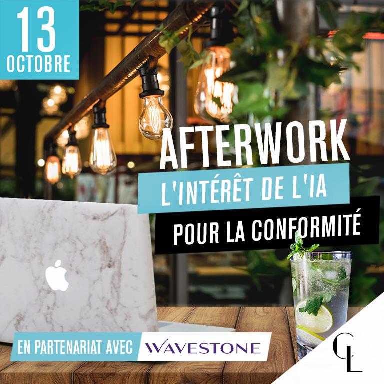Afterwork : l'intérêt de l'IA pour la conformité