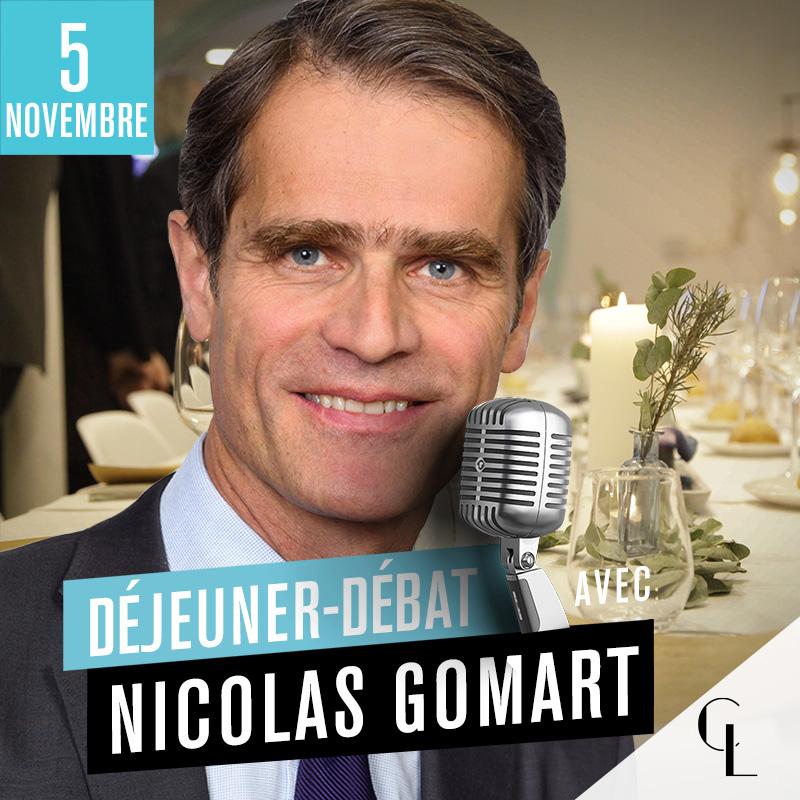 Déjeuner Débat avec Nicolas Gomart, Directeur Général de Matmut