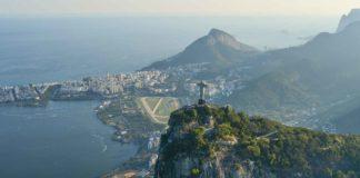 Une vue de Rio de Janeiro au Brésil