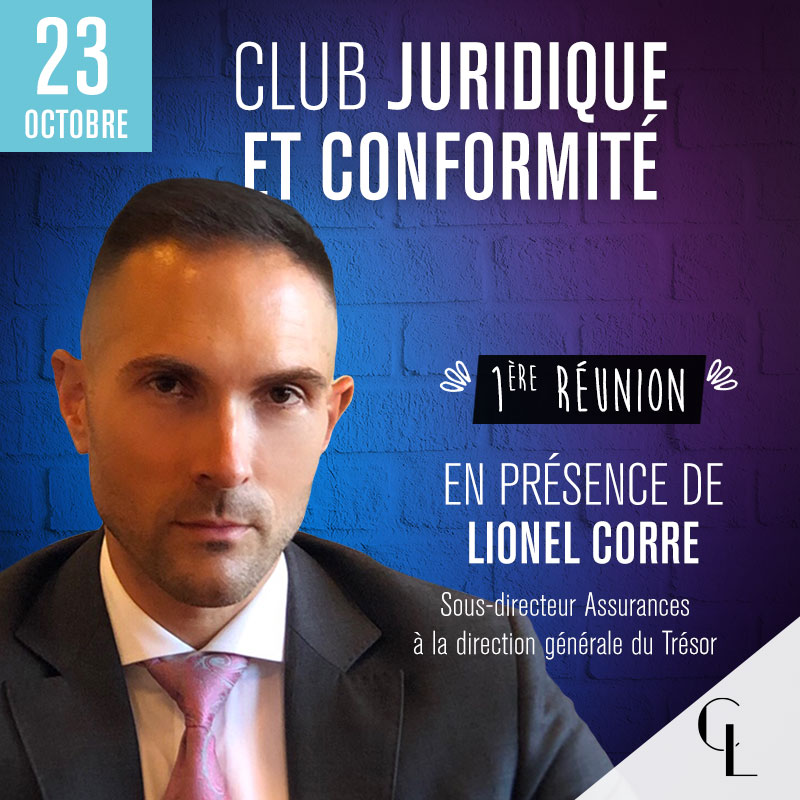 Club Juridique et Conformité - 1ère réunion