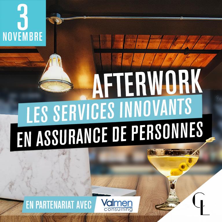 Afterwork : les services innovants en assurance de personnes