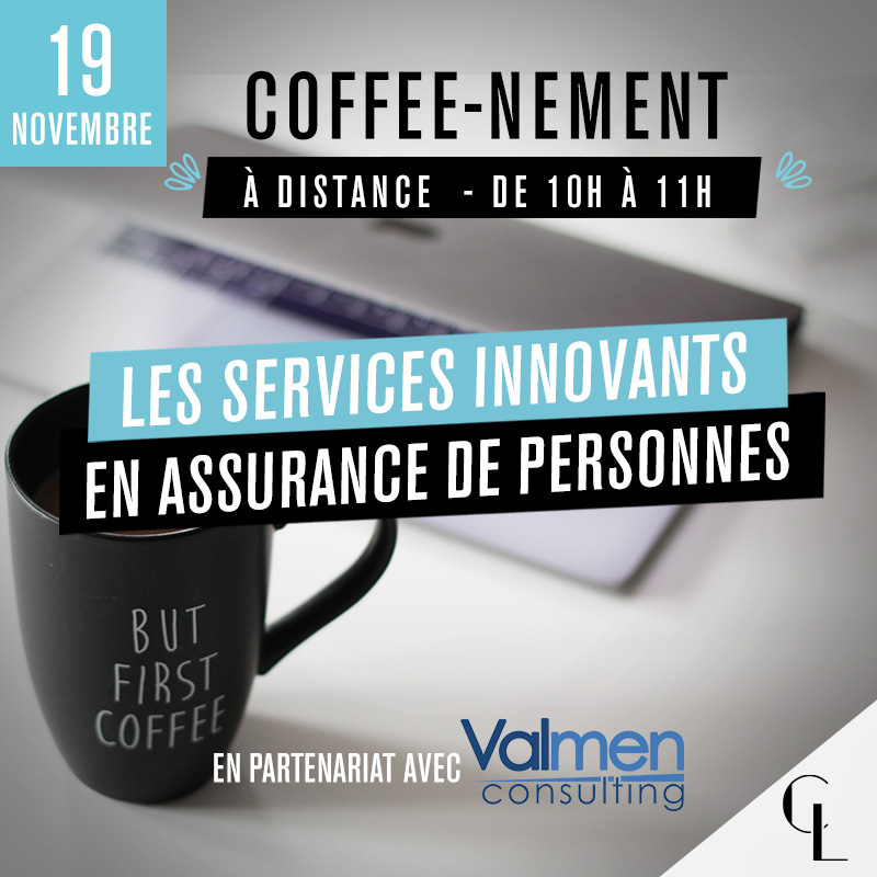 Coffee-nement : les services innovants en assurance de personnes