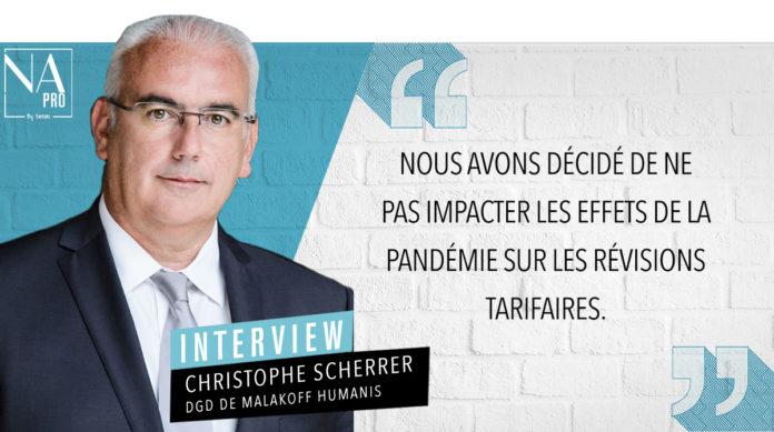 Interview avec Christophe Scherrer, DGD de Malakoff Humanis