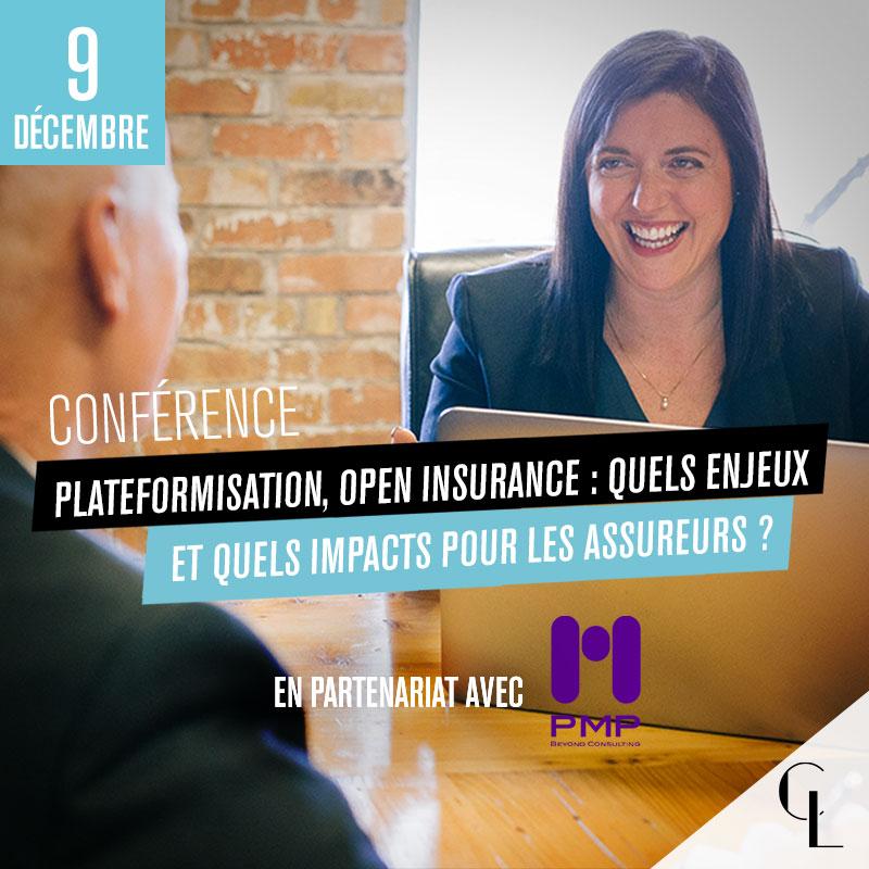 Conférence : Plateformisation, Open Insurance : quels enjeux et quels impacts pour les assureurs ?
