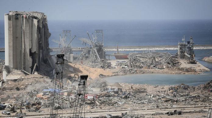 L'explosion dévastatrice du port de Beyrouth le 4 août. Crédit photo : Mahdi Shojaeian