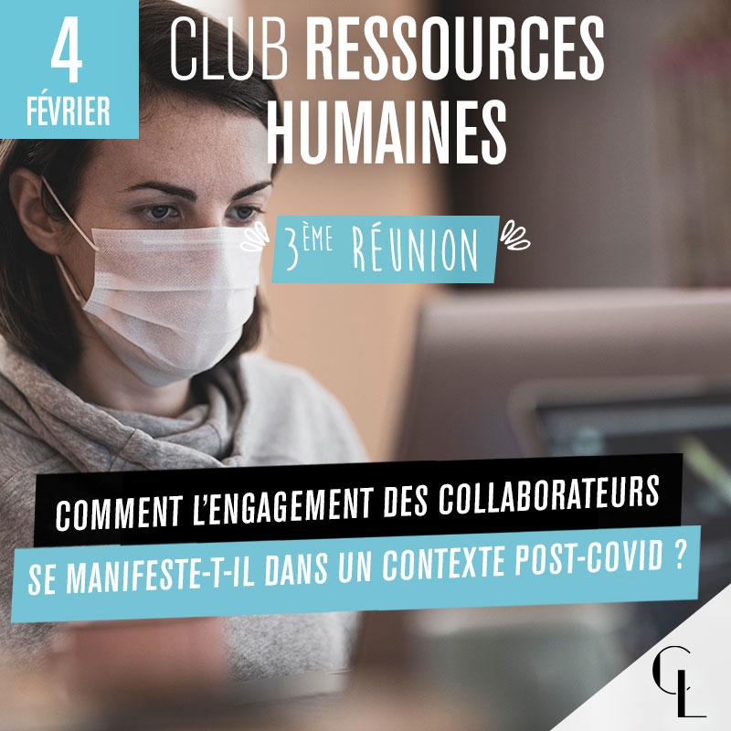 Club Ressources Humaines - 3ème réunion