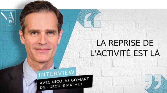 Nicolas Gomart est directeur général du groupe Matmut