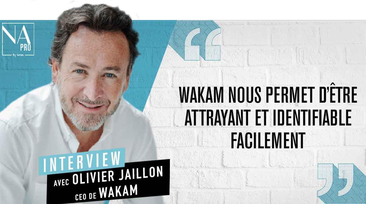 """Olivier Jaillon : """"Wakam nous permet d'être attrayant et identifiable facilement"""""""