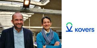 Les co-fondateurs de Kovers, Julien Mouchet et Kim Vu Dinh.