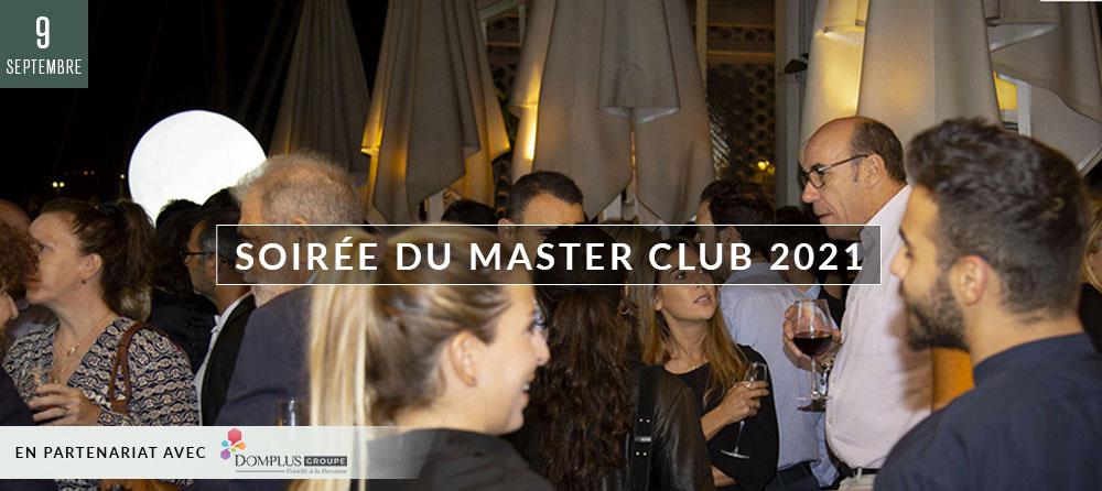 SOIRÉE DU MASTER CLUB 2021