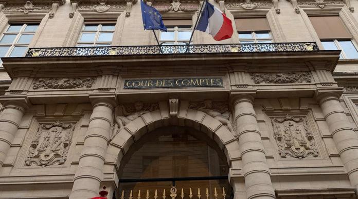 Façade de la Cour des Comptes, au 13, rue de Cambon.