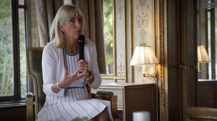 Catherine Charrier-Leflaive, DGA de La Banque Postale en charge de l'assurance.
