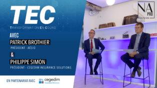 Vidéo : Patrick Brothier (groupe Aésio), premier invité de TEC