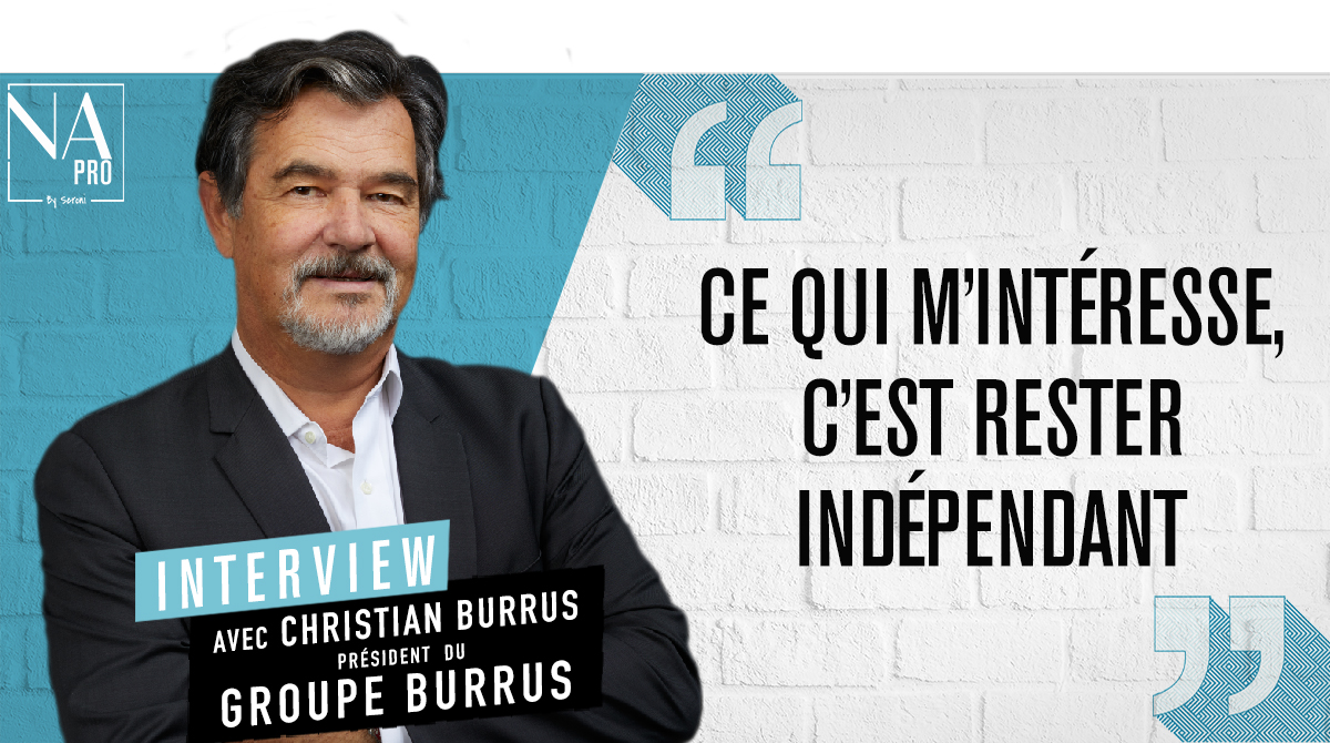 """Christian Burrus : """"Ce qui m'intéresse, c'est rester indépendant"""""""