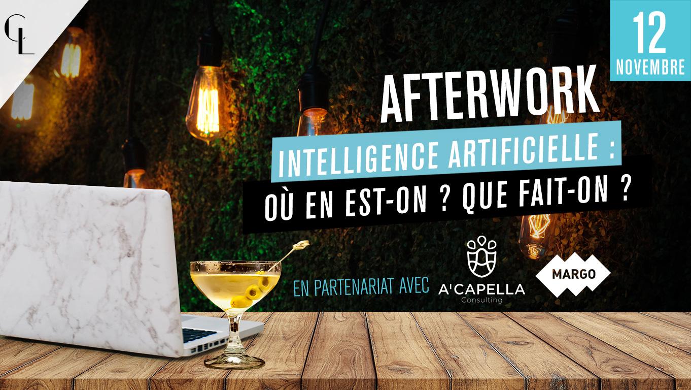 Afterwork - Intelligence Artificielle : où en est-on ? Que fait-on ?