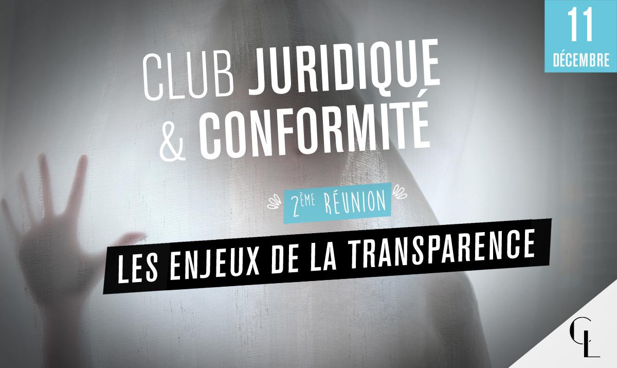 Club Juridique et Conformité - 2ème réunion
