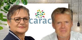 Nicole Lenoir et Eric Varache rejoignant le comité de direction de la Carac.