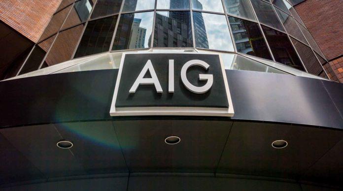 Le siège d'AIG à New York