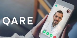 Qare, start-up spécialisée dans la téléconsultation.