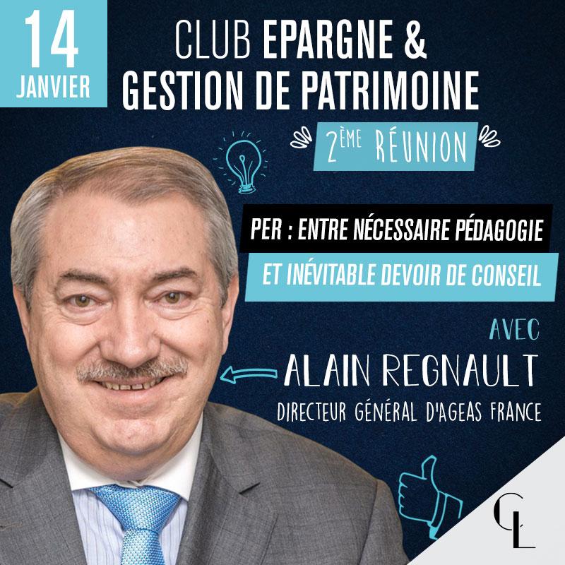 Club Epargne & Gestion de Patrimoine - 2ème réunion