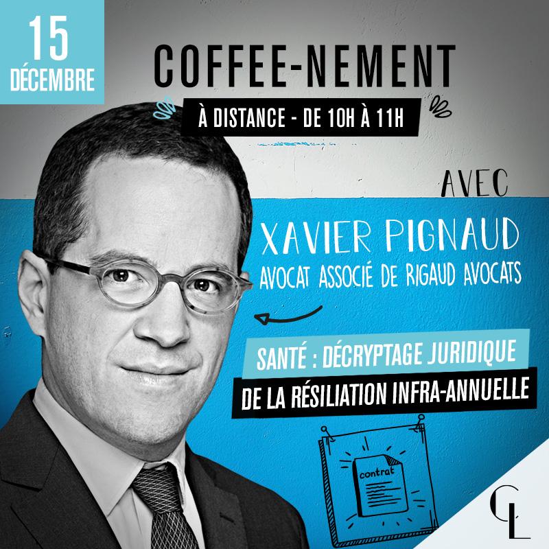 Coffee-nement : Santé : Décryptage juridique de la résiliation infra-annuelle