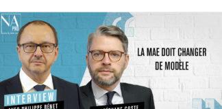 Philippe Bénet et Stéphane Coste (MAE)