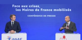 François Baroin, président de l'Association des Maires de France, et Thierry Beaudet, président de la Mutualité Française.
