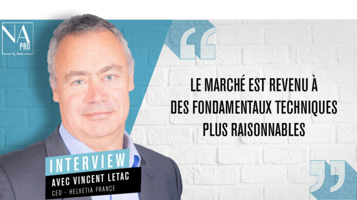 Vincent Letac, CEO d'Helvetia France
