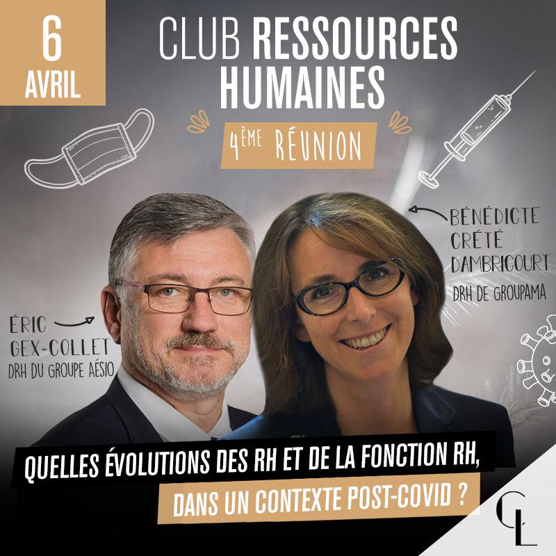 Club Ressources Humaines - 4ème réunion