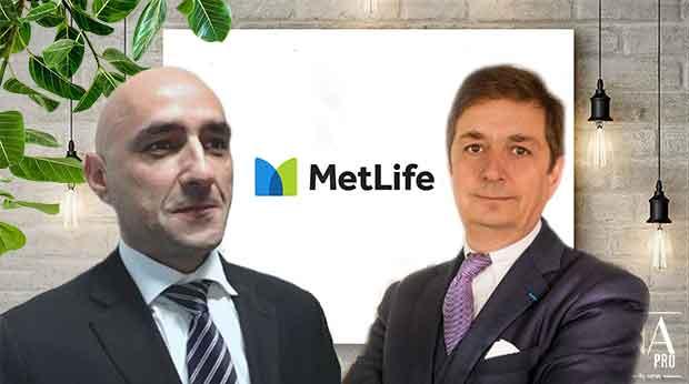Karim Boukni et Alfred Dittrick - Metlife