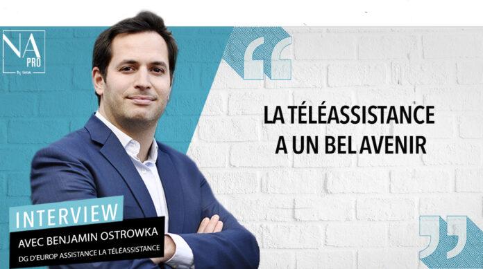 Benjamin Ostrowka est DG d'Europ Assistance la Téléassistance.