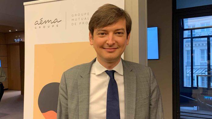 Adrien Couret est directeur général d'Aéma Groupe.