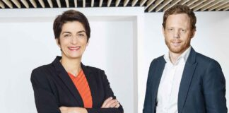 Catherine Touvrey et Emeric Lozé