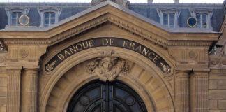 Fronton de la Banque de France