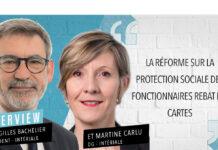 Entretien avec Gilles Bachelier, président d'Intériale et Martine Carlu, directrice générale.